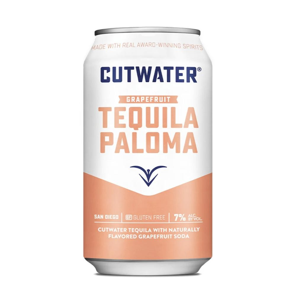Tequila Paloma (4 Pack - 12 Ounce Cans) Canned Cocktails Cutwater Spirits