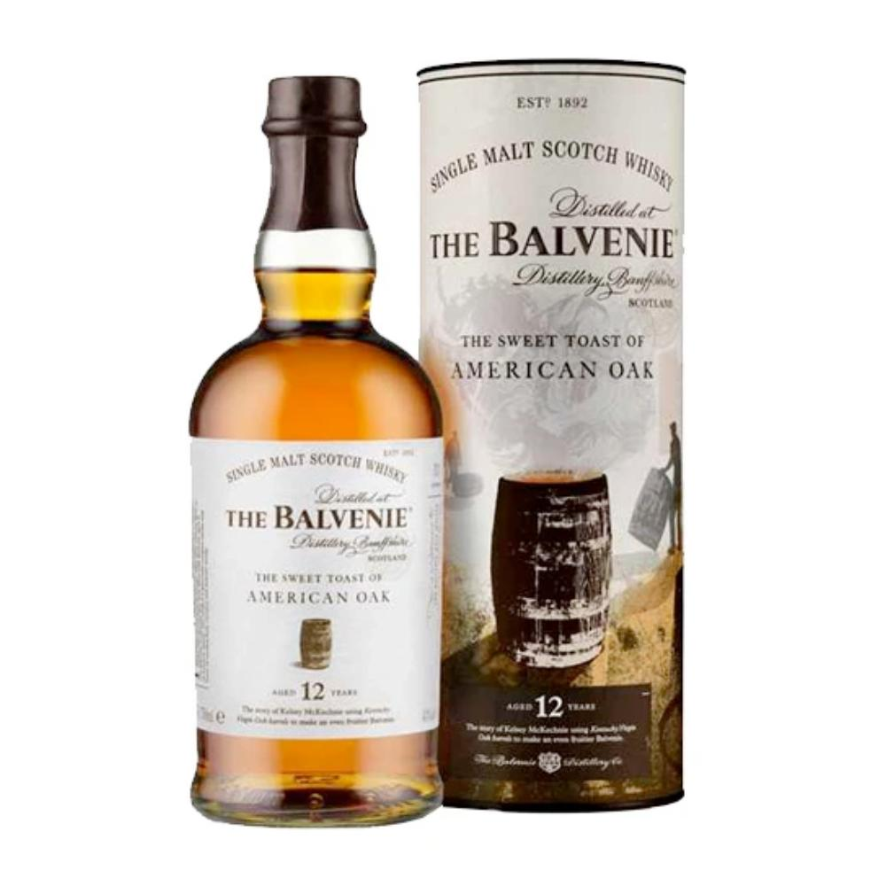 The Balvenie The Sweet Toast Of American Oak 12 Year Old Scotch The Balvenie
