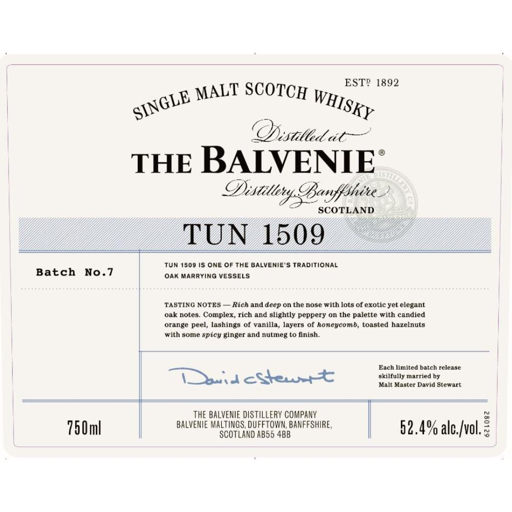 The Balvenie Tun 1509 Batch 7 Scotch The Balvenie