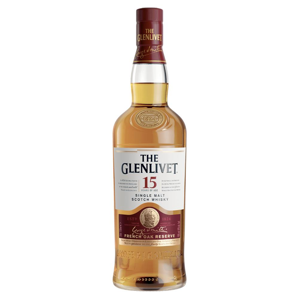 The Glenlivet 15 Year Old Scotch The Glenlivet