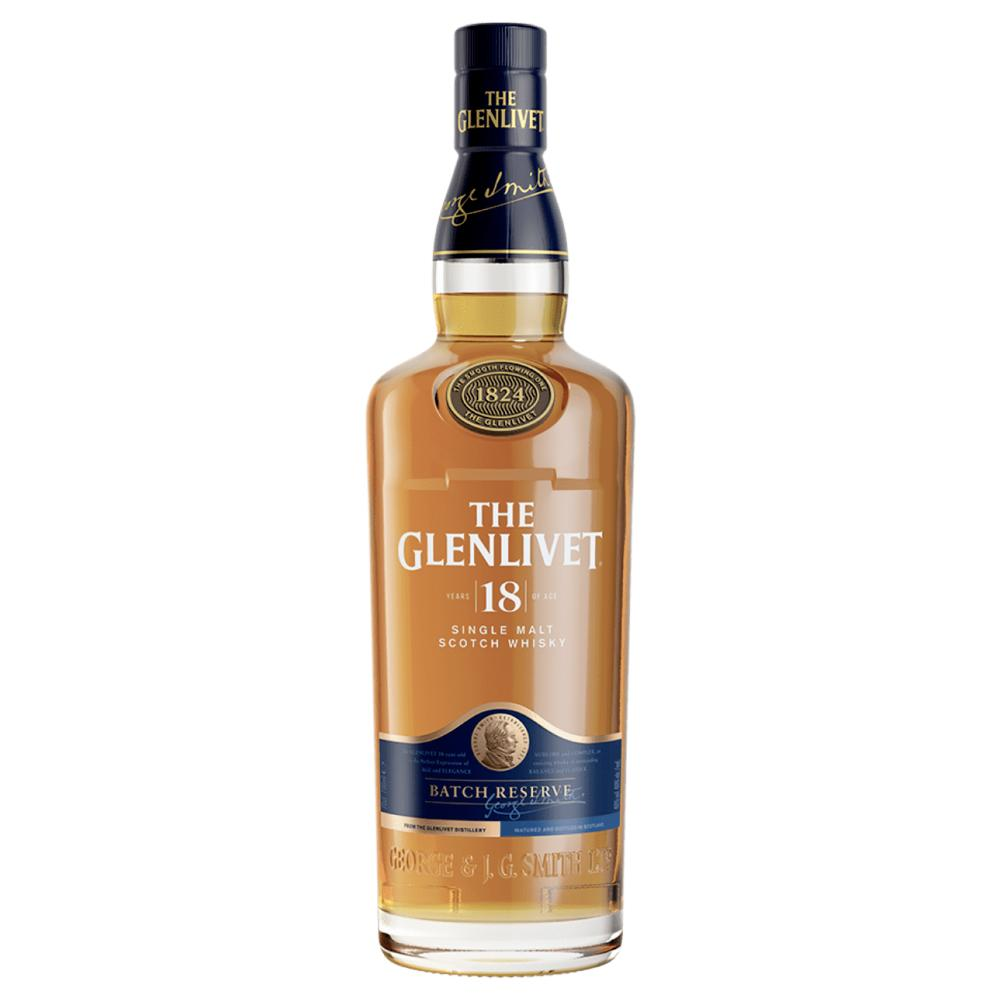 The Glenlivet 18 Year Old Scotch The Glenlivet