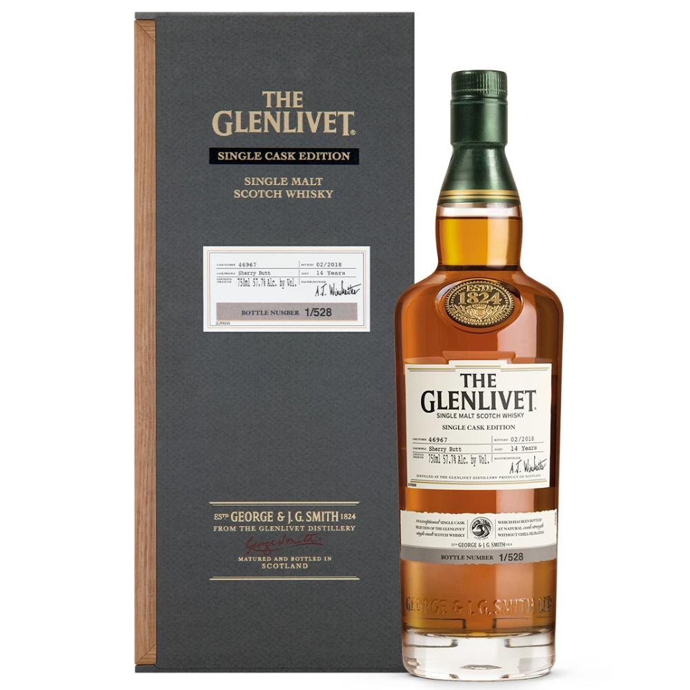 The Glenlivet Single Cask Edition 2nd Fill Sherry Butt #46967 Scotch The Glenlivet