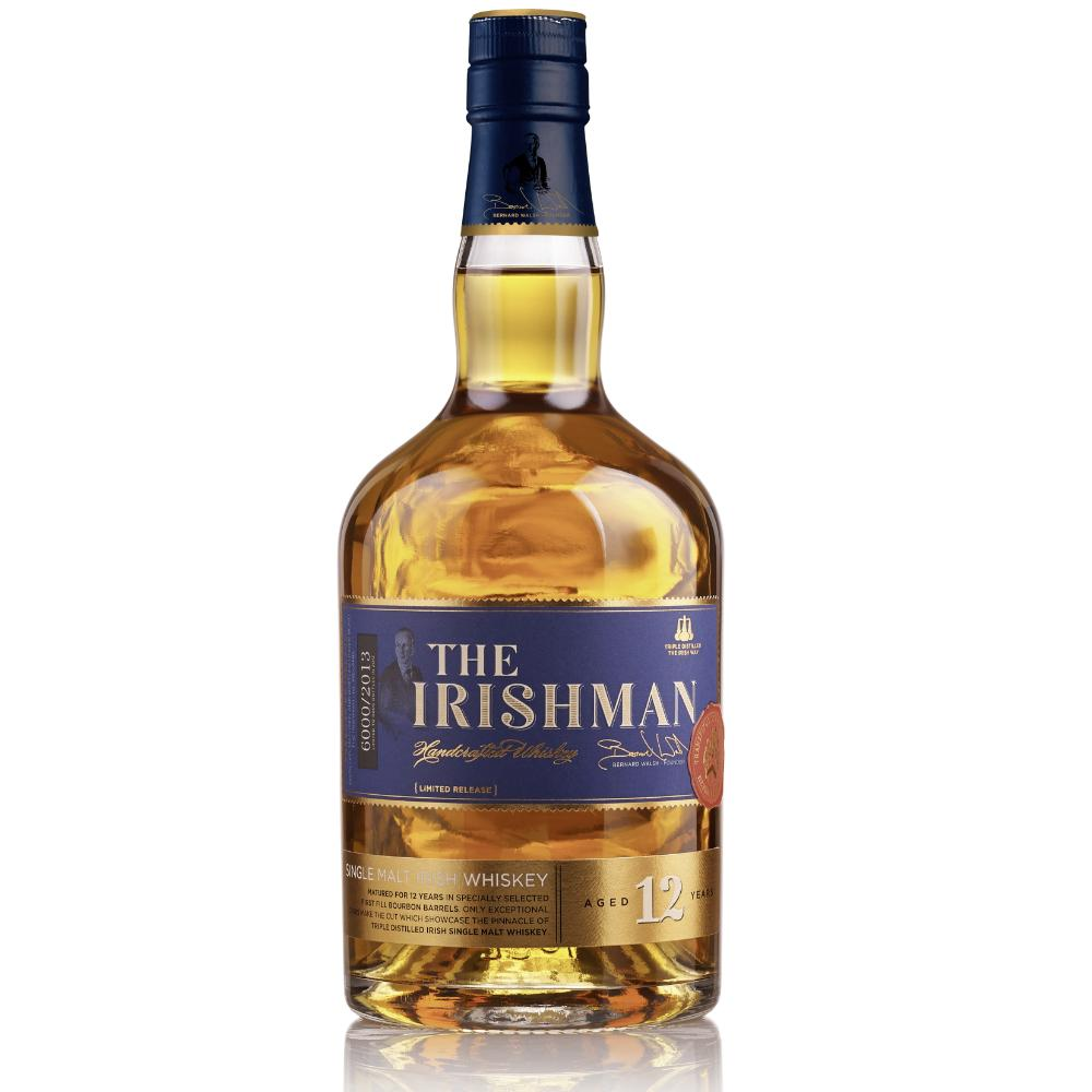 The Irishman 12 Year Old Single Malt Irish whiskey The Irishman