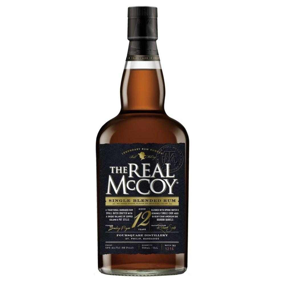 The Real McCoy 12 Year Aged Rum Rum The Real McCoy