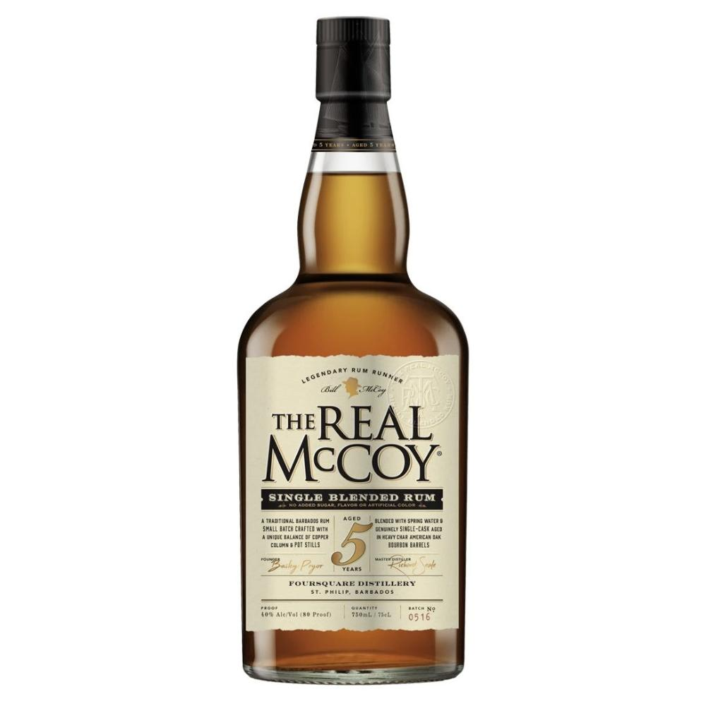 The Real McCoy 5 Year Aged Rum Rum The Real McCoy
