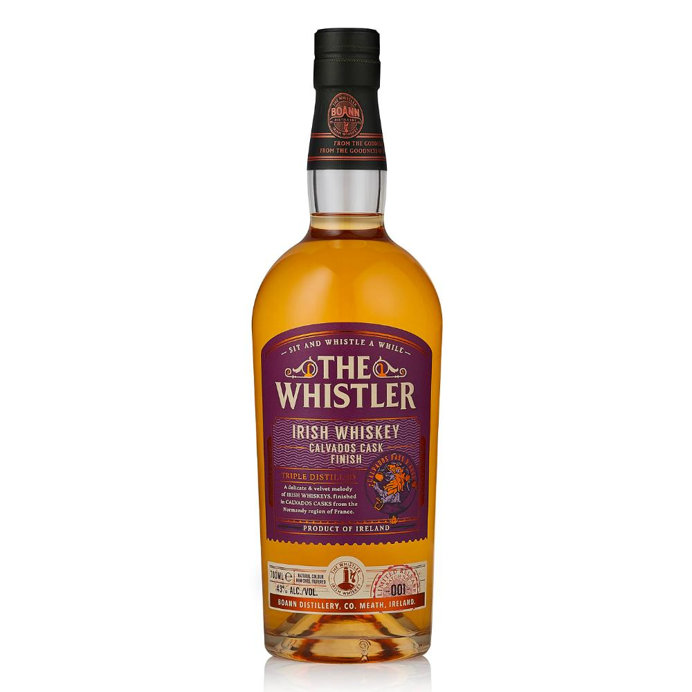 The Whistler Calvados Cask Finish Irish whiskey The Whistler Irish Whiskey