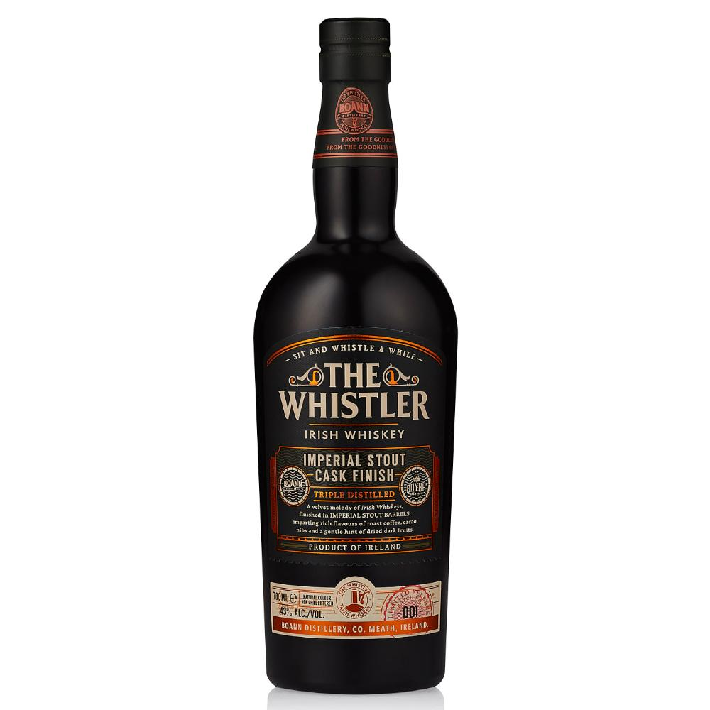 The Whistler Imperial Stout Cask Finish Irish whiskey The Whistler Irish Whiskey