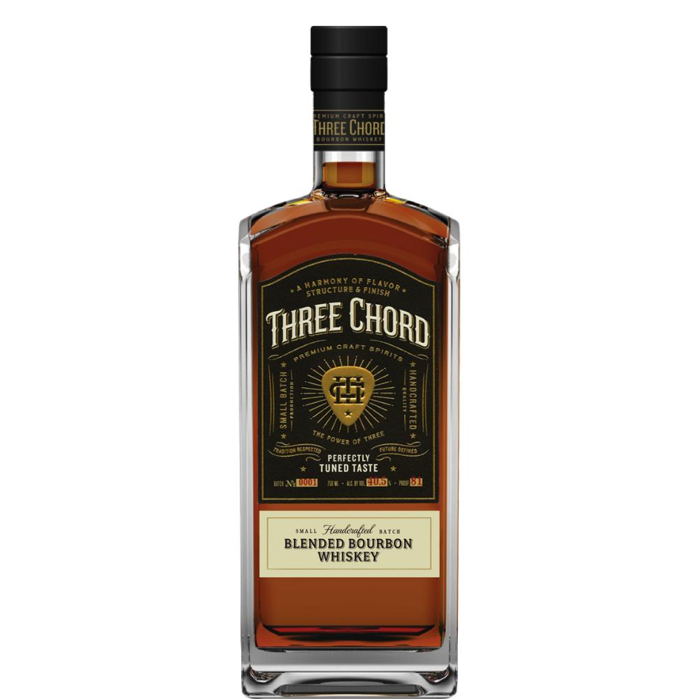 Three Chord Blended Bourbon Whiskey Bourbon Three Chord