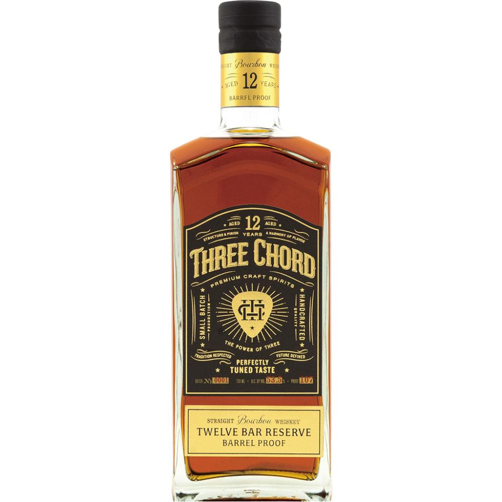 Three Chord Twelve Bar Reserve Bourbon Three Chord