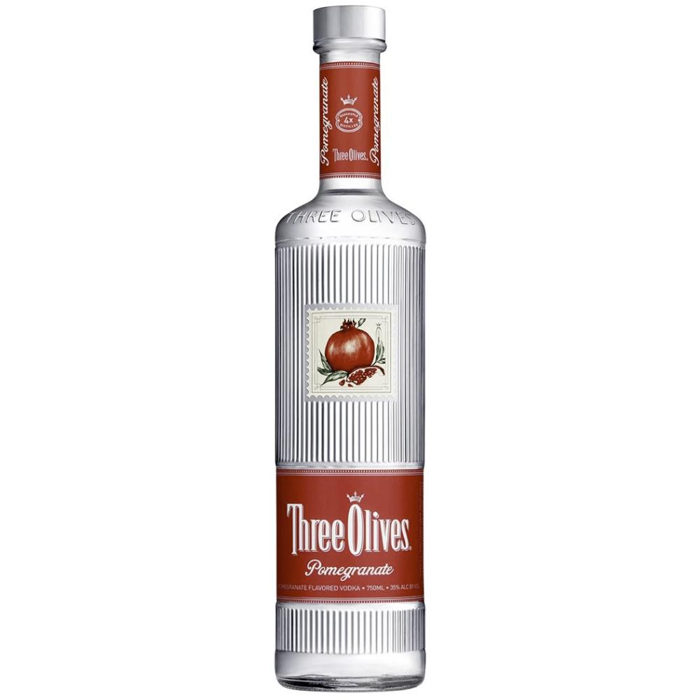 Three Olives Pomegranate Vodka Three Olives