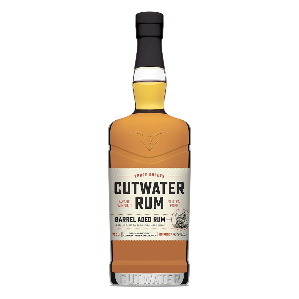 Three Sheets Barrel Aged Rum Rum Cutwater Spirits