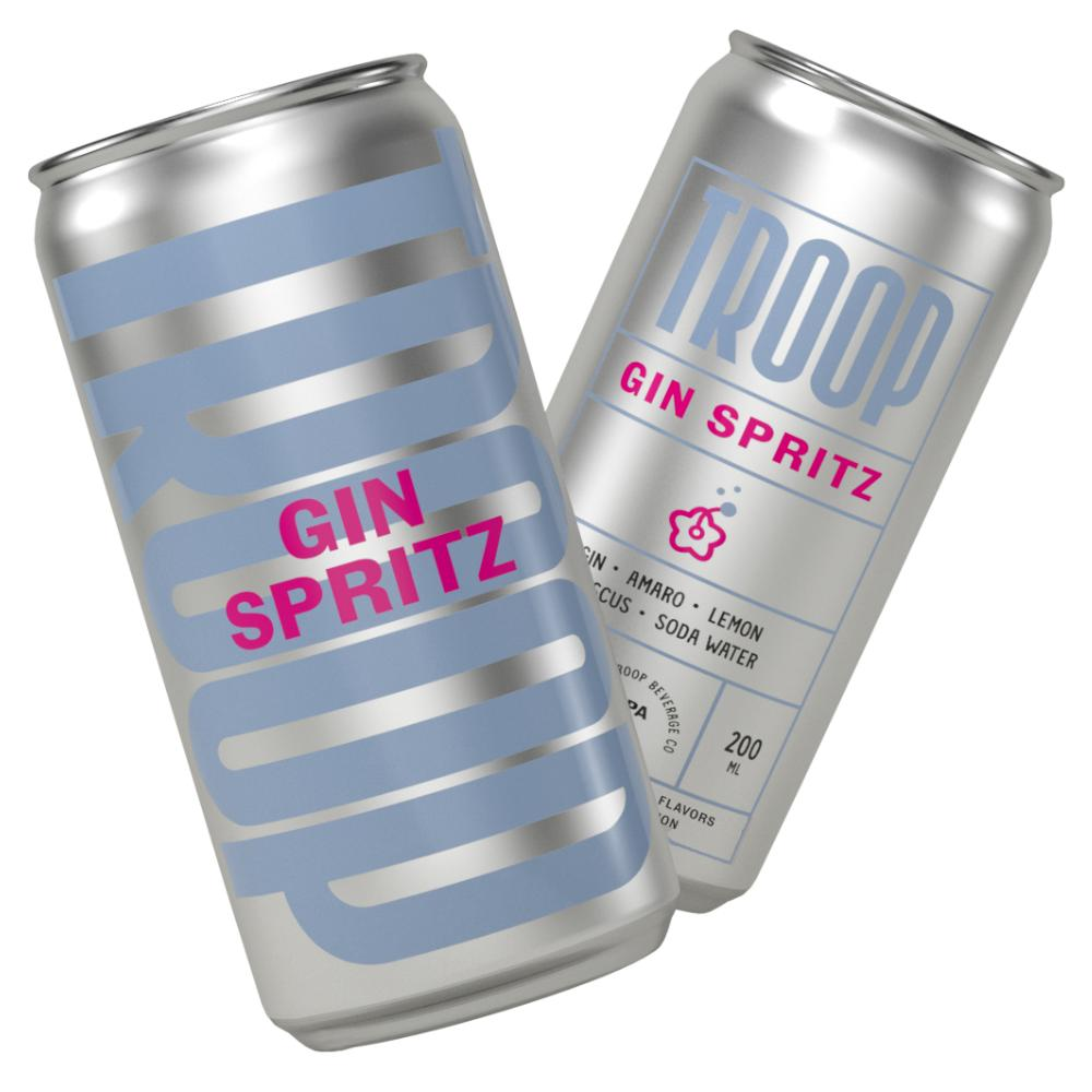 Troop Gin Spritz (4 Packs) Ready-To-Drink Cocktails Troop Beverage Co.