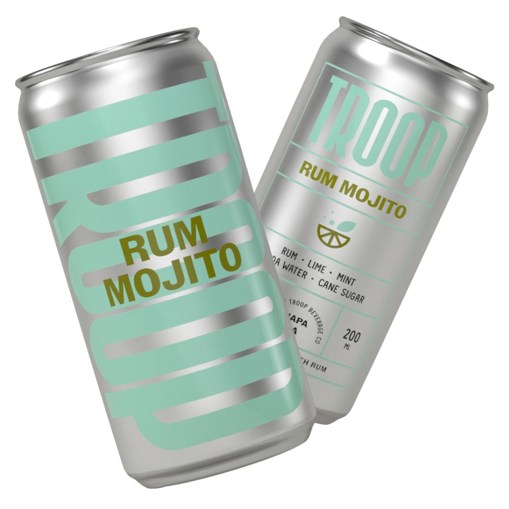 Troop Rum Mojito (4 Pack) Ready-To-Drink Cocktails Troop Beverage Co.