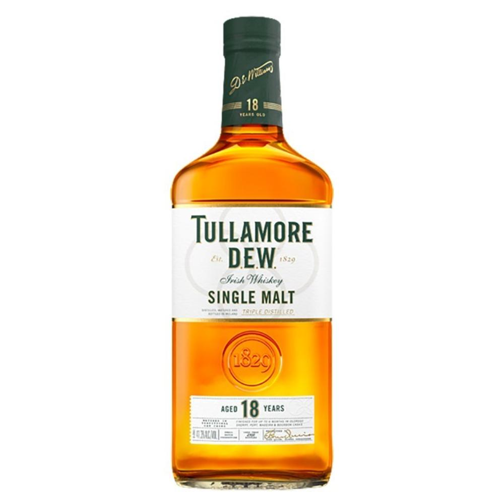 Tullamore Dew 18 Year Old Single Malt Irish whiskey Tullamore Dew