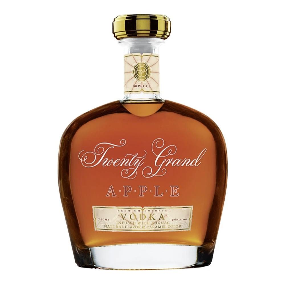 Twenty Grand APPLE VODKA Infused with Cognac Vodka Twenty Grand