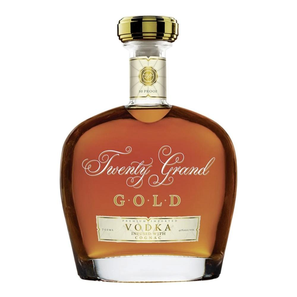 Twenty Grand GOLD VODKA Infused with Cognac Vodka Twenty Grand