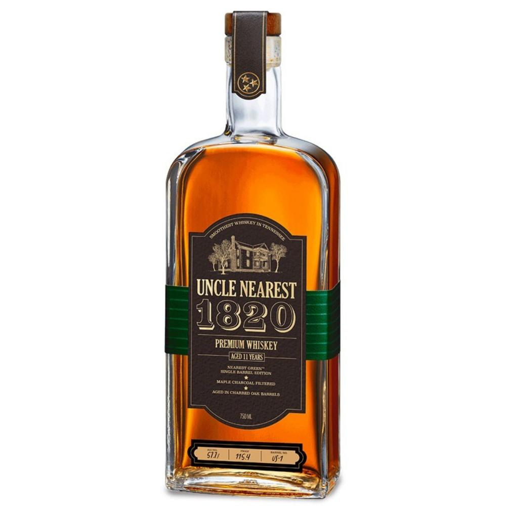 Uncle Nearest 1820 Single Barrel Edition American Whiskey Uncle Nearest