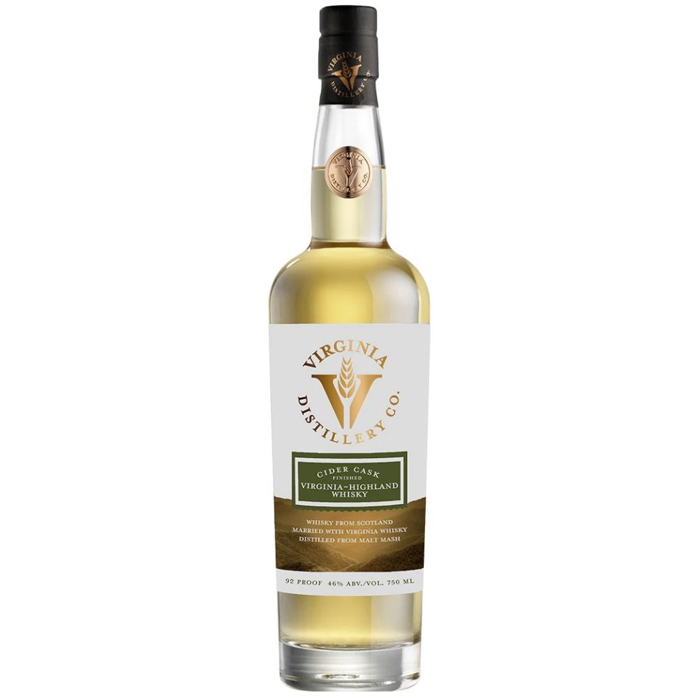Virginia-Highland Whisky Cider Cask Finished American Whiskey Virginia Distillery Co.