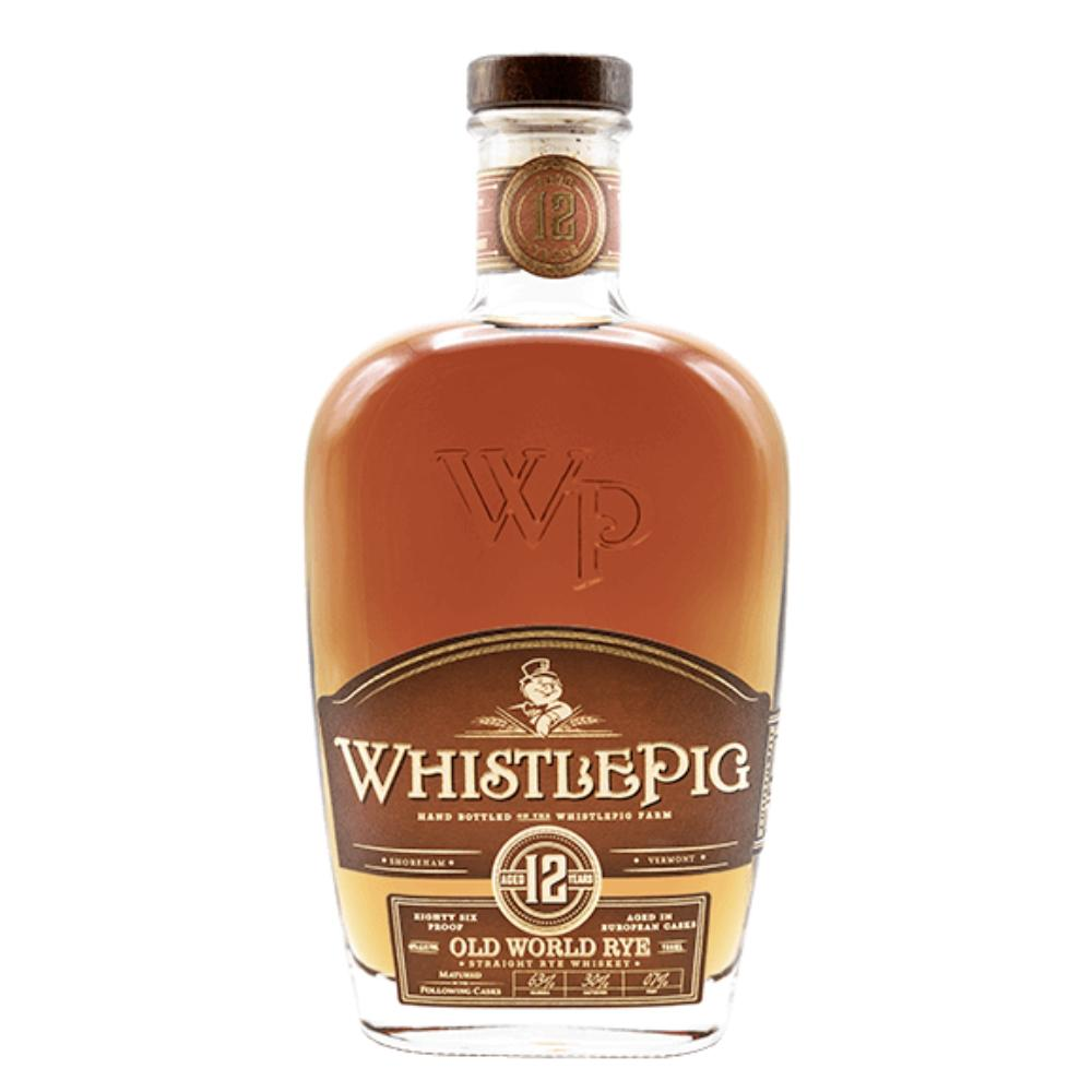 WhistlePig 12 Year Old World Rye Whiskey WhistlePig