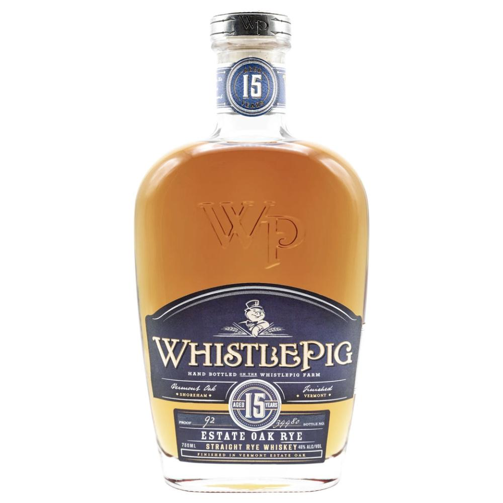 WhistlePig 15 Year Straight Rye Rye Whiskey WhistlePig