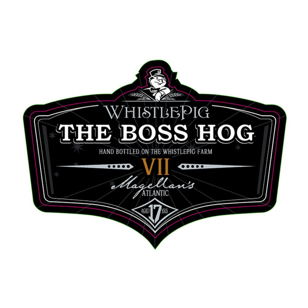 WhistlePig The Boss Hog VII Magellan's Atlantic Rye Whiskey WhistlePig