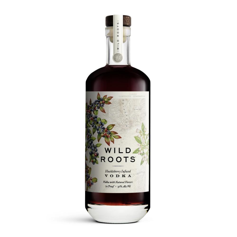 Wild Roots Huckleberry Infused Vodka Vodka Wild Roots
