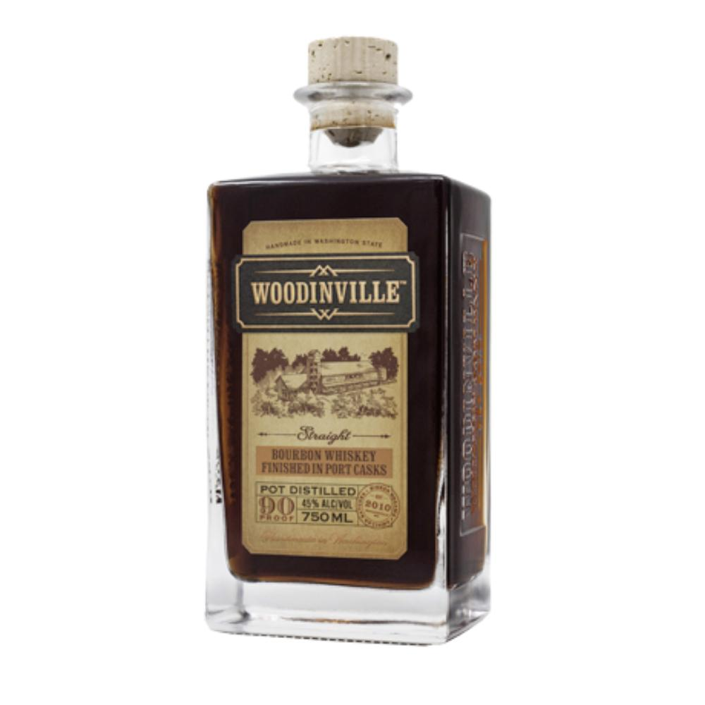 Woodinville Port Finished Straight Bourbon American Whiskey Woodinville