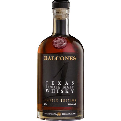 Balcones Texas Single Malt Whiskey