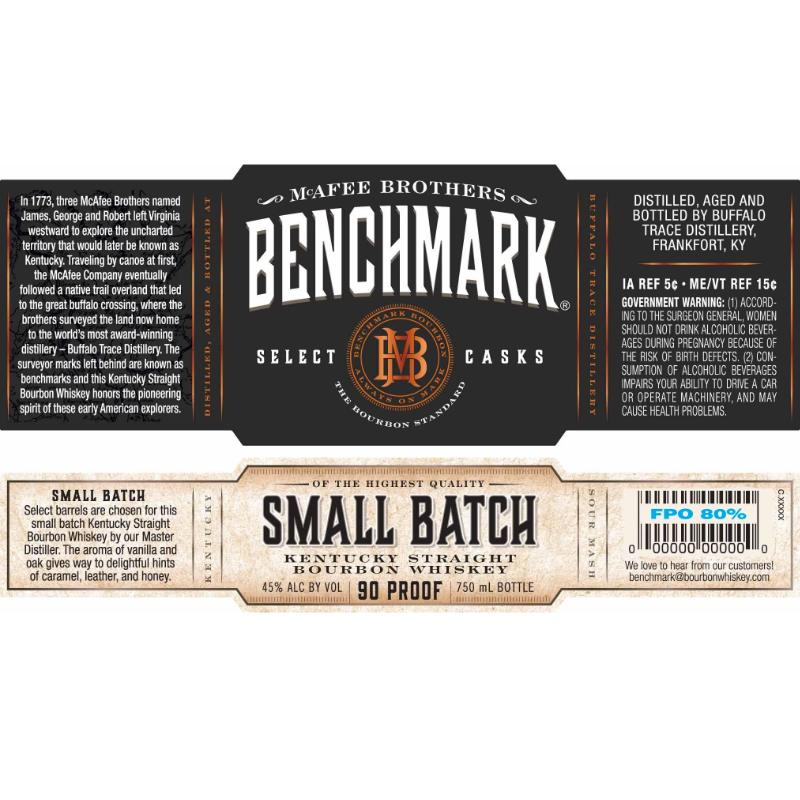Benchmark Small Batch Bourbon Benchmark