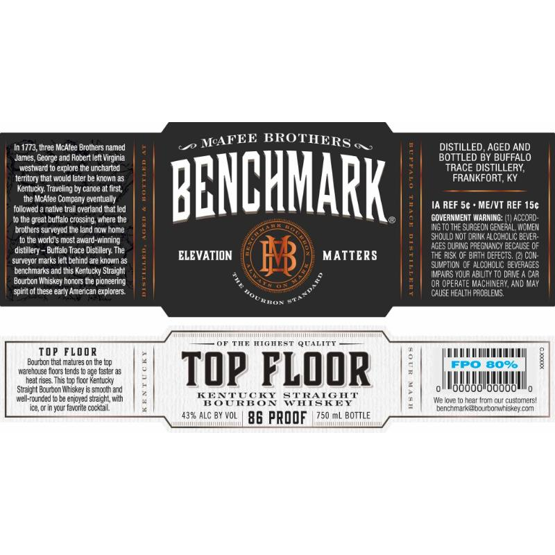 Benchmark Top Floor Bourbon Benchmark
