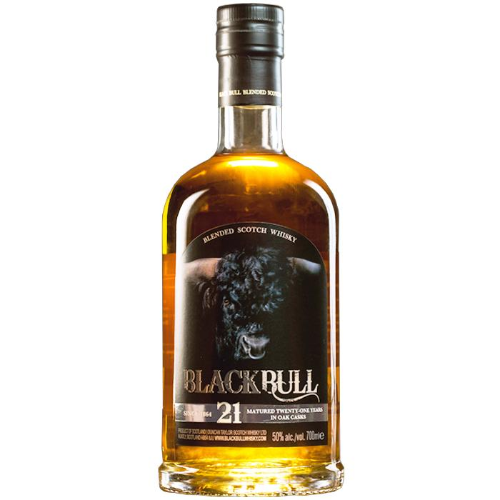 Black Bull 21 Year Old Scotch Black Bull Whisky