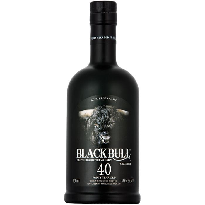 Black Bull 40 Year Old Scotch Black Bull Whisky