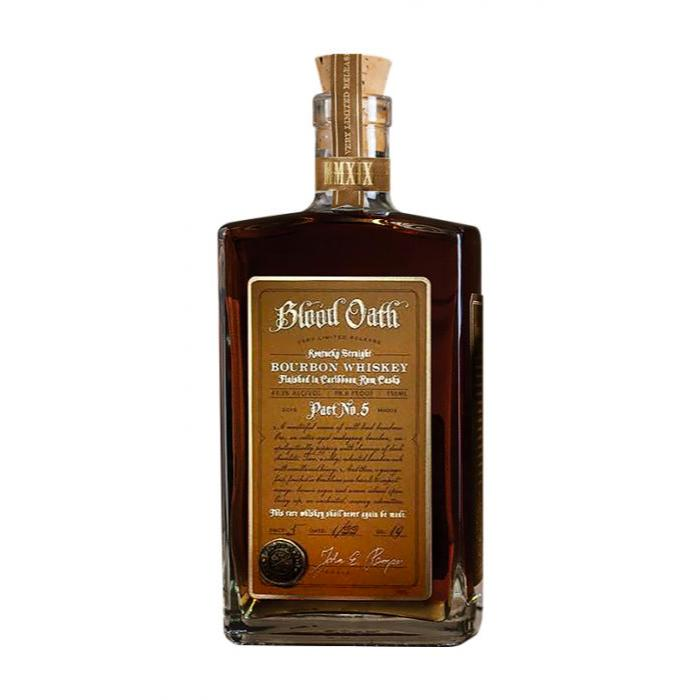 Blood Oath Pact No. 5 Bourbon Blood Oath