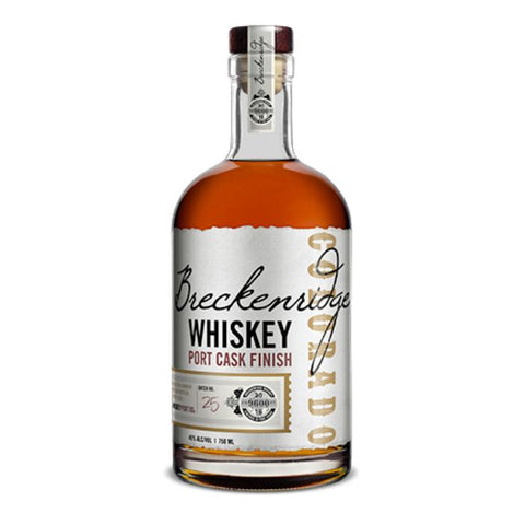 Breckenridge Whiskey Port Cask Finish