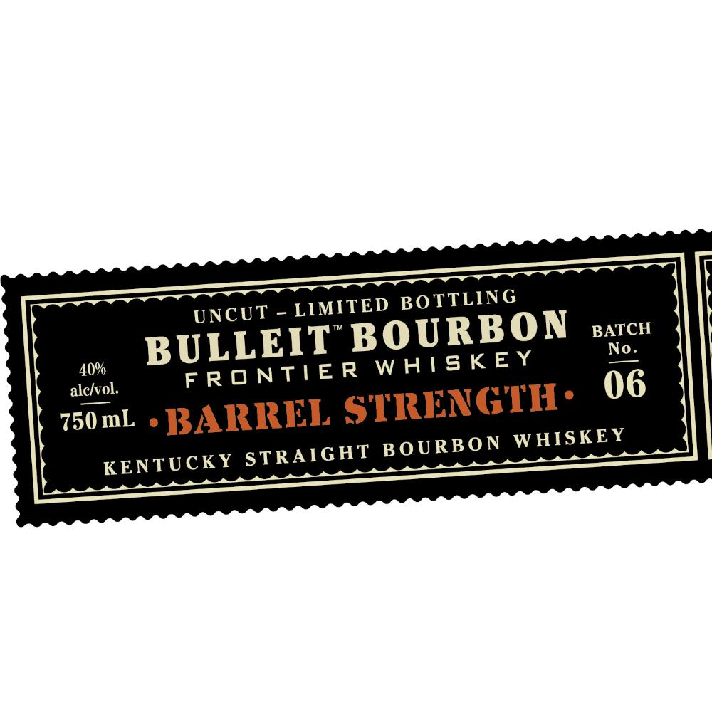 Bulleit Bourbon Barrel Strength Batch #6 Bourbon Bulleit