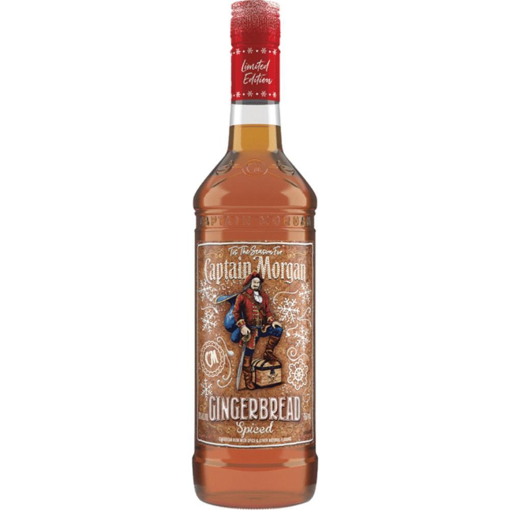 Captain Morgan Gingerbread Spiced Rum Rum Captain Morgan