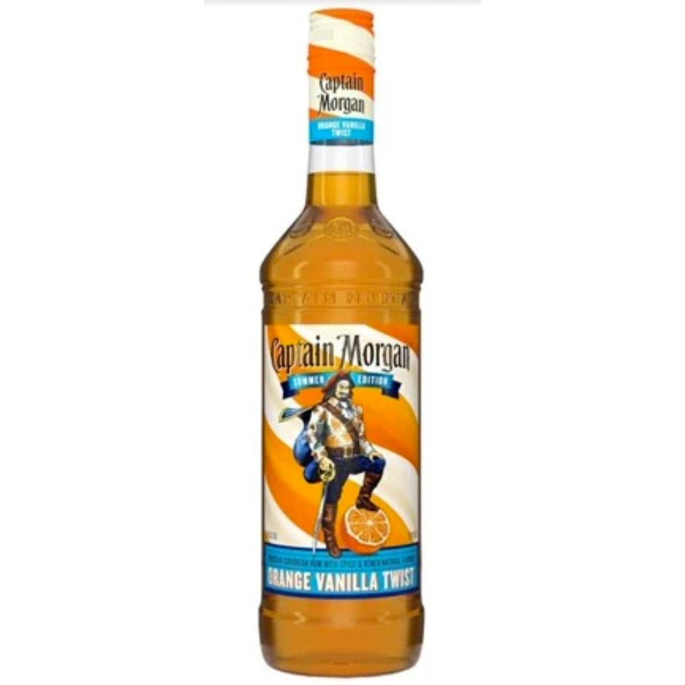 Captain Morgan Orange Vanilla Twist Rum Captain Morgan