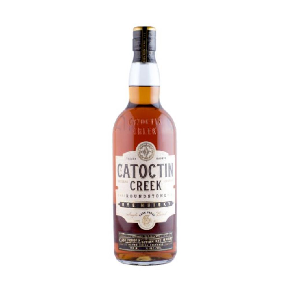 Catoctin Creek Roundstone Rye Cask Strength Rye Whiskey Catoctin Creek Distilling Company