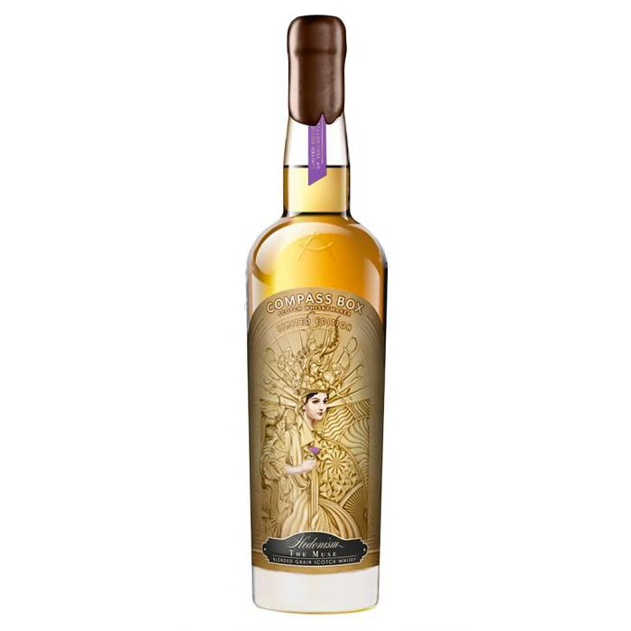 Compass Box Hedonism The Muse Scotch Compass Box