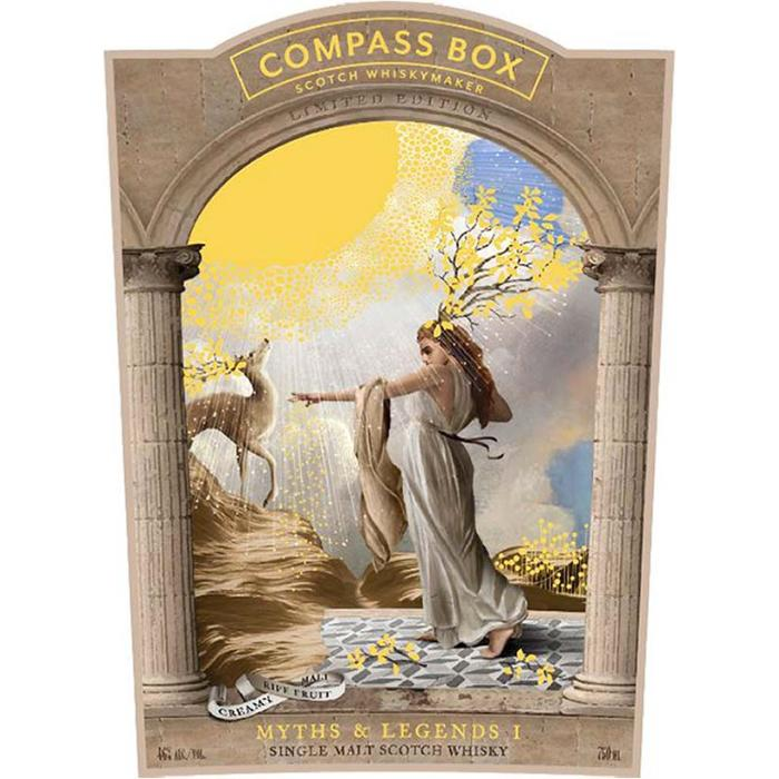 Compass Box Myths & Legends I Scotch Compass Box