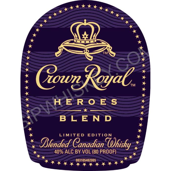 Crown Royal Heroes Blend Canadian Whisky Crown Royal