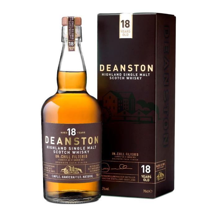 Deanston 18 Year Old Bourbon Finish Scotch Deanston Whisky