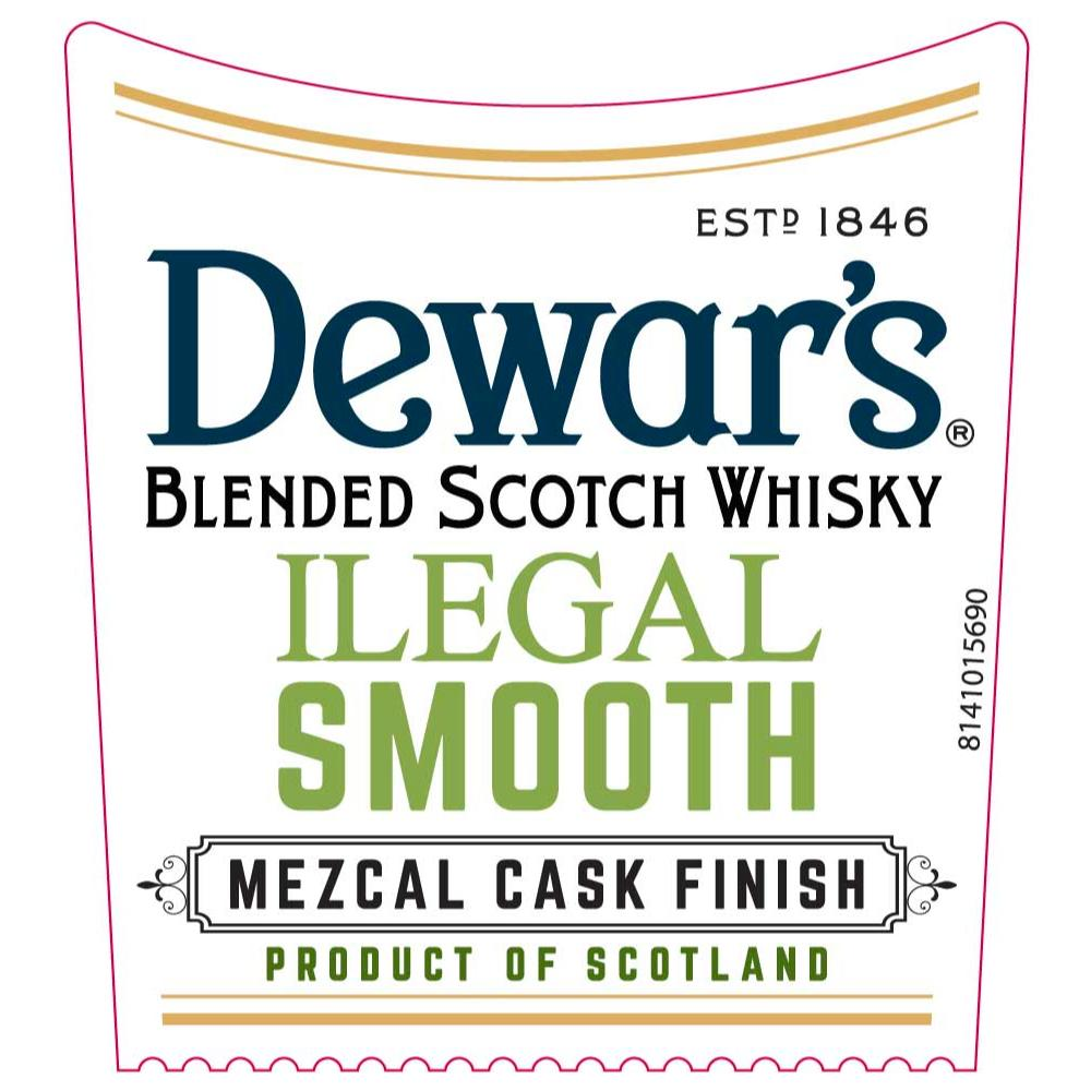 Dewar's Ilegal Smooth Mezcal Cask Finish Scotch Dewar's