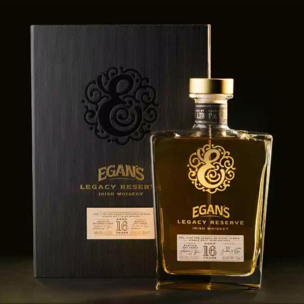 Egan's Legacy Reserve II 16 Year Old Irish Whiskey Irish whiskey Egan's Irish Whiskey