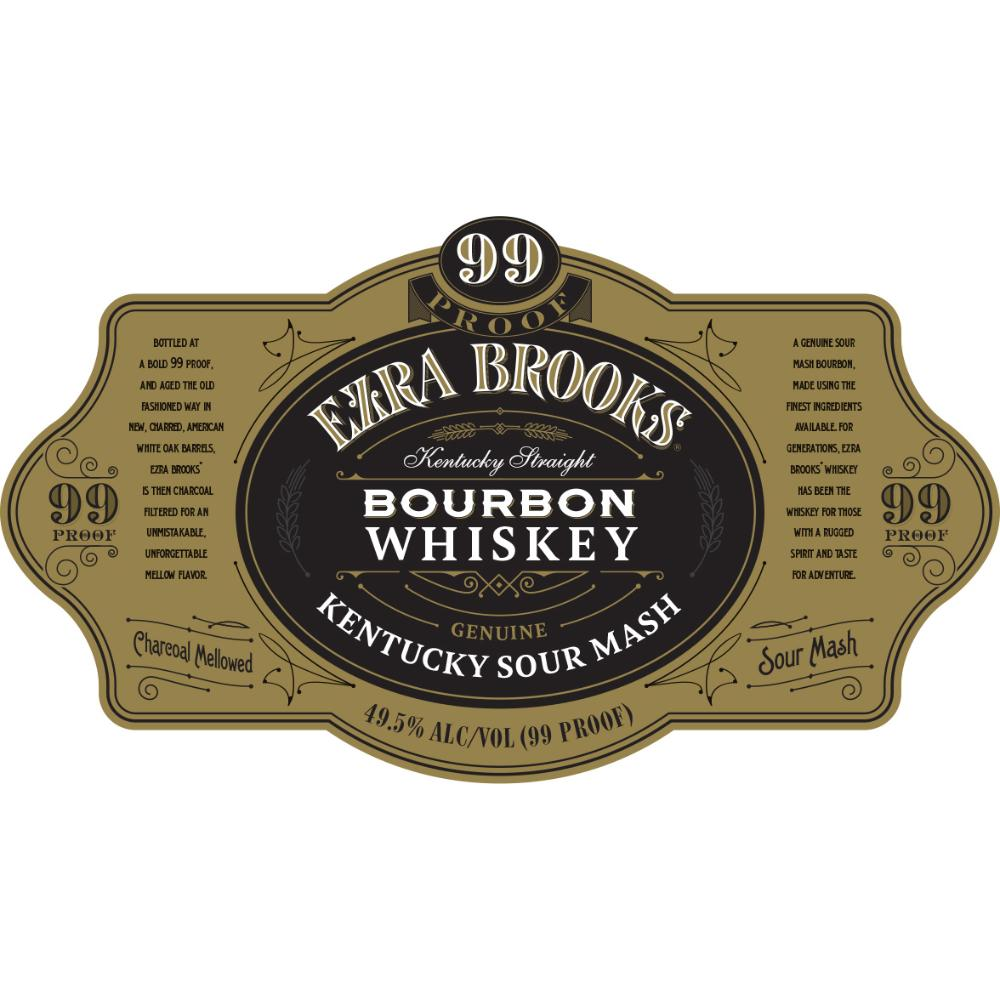 Ezra Brooks 99 Proof Bourbon Bourbon Ezra Brooks