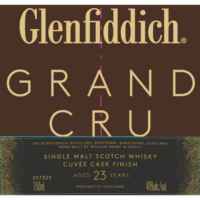 Glenfiddich Grand Cru Scotch Glenfiddich