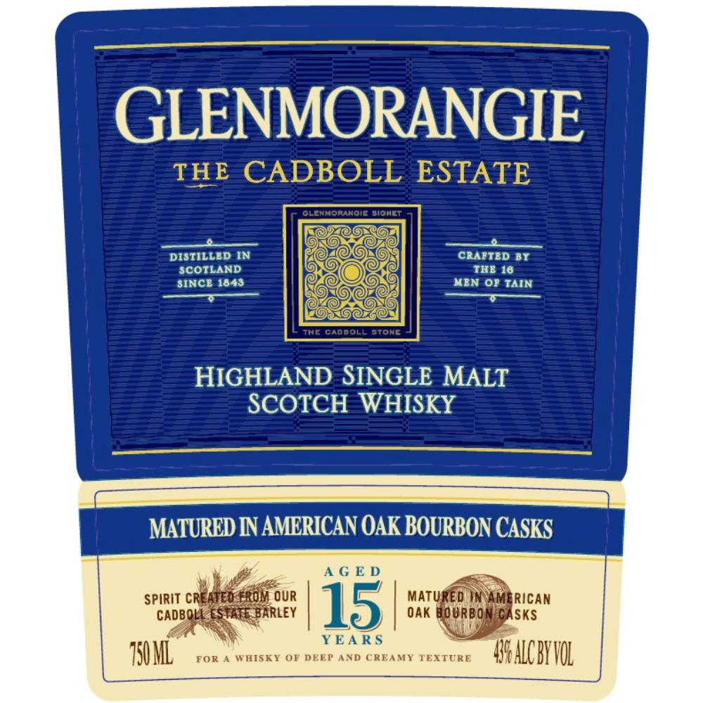 Glenmorangie The Cadboll Estate 15 Year Old Scotch Glenmorangie