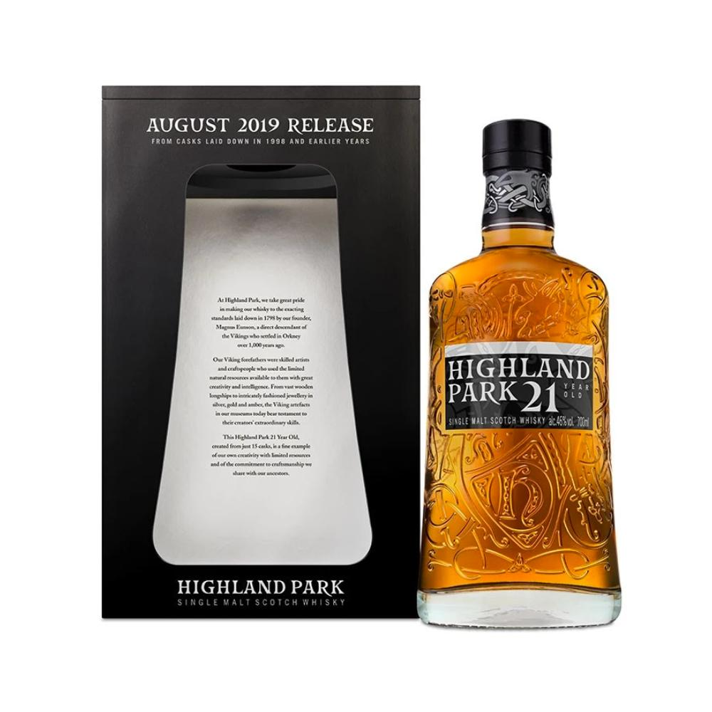 Highland Park 21 Year Old Scotch Highland Park