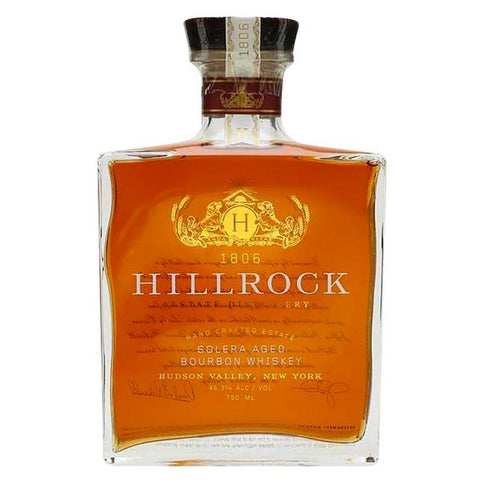 Hillrock Solera Aged Bourbon Whiskey