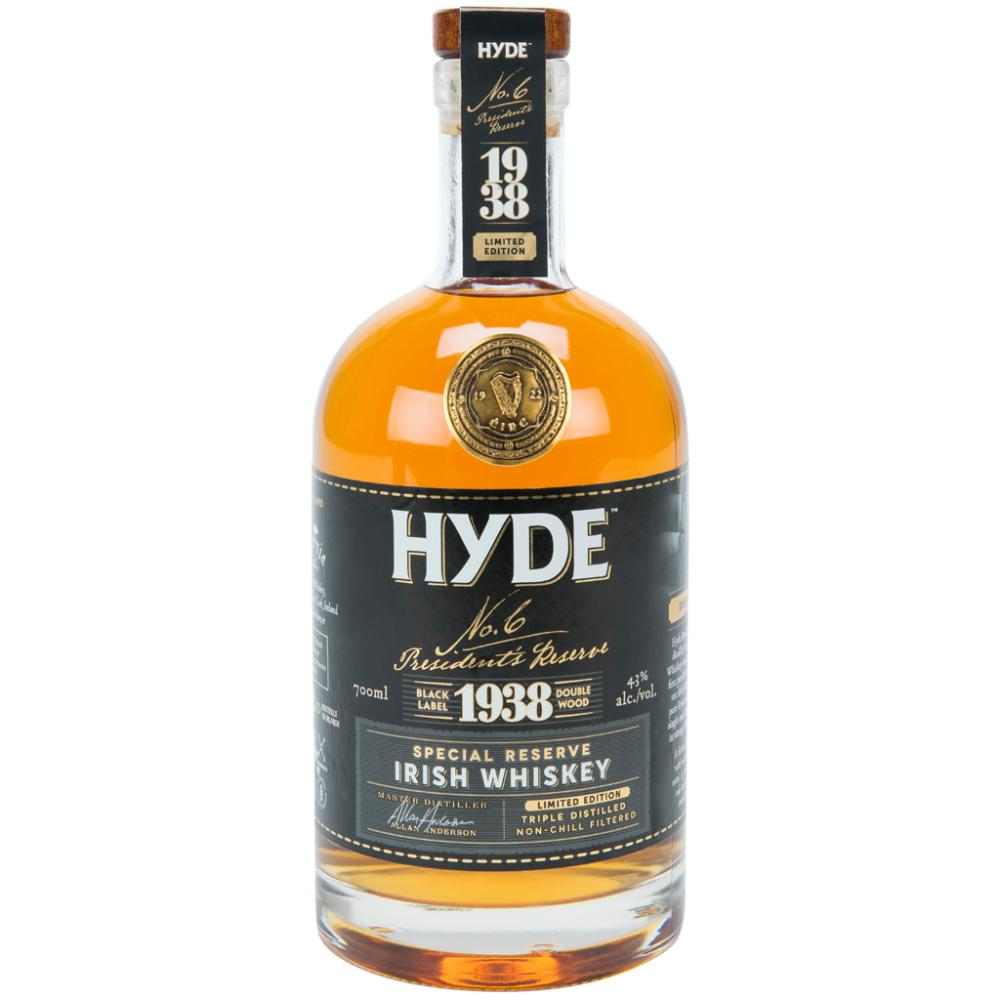 Hyde No. 6 President's Reserve Irish whiskey Hyde Whiskey